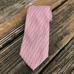 Vineyard Vines Pink Martini Cocktail Silk Mens Tie